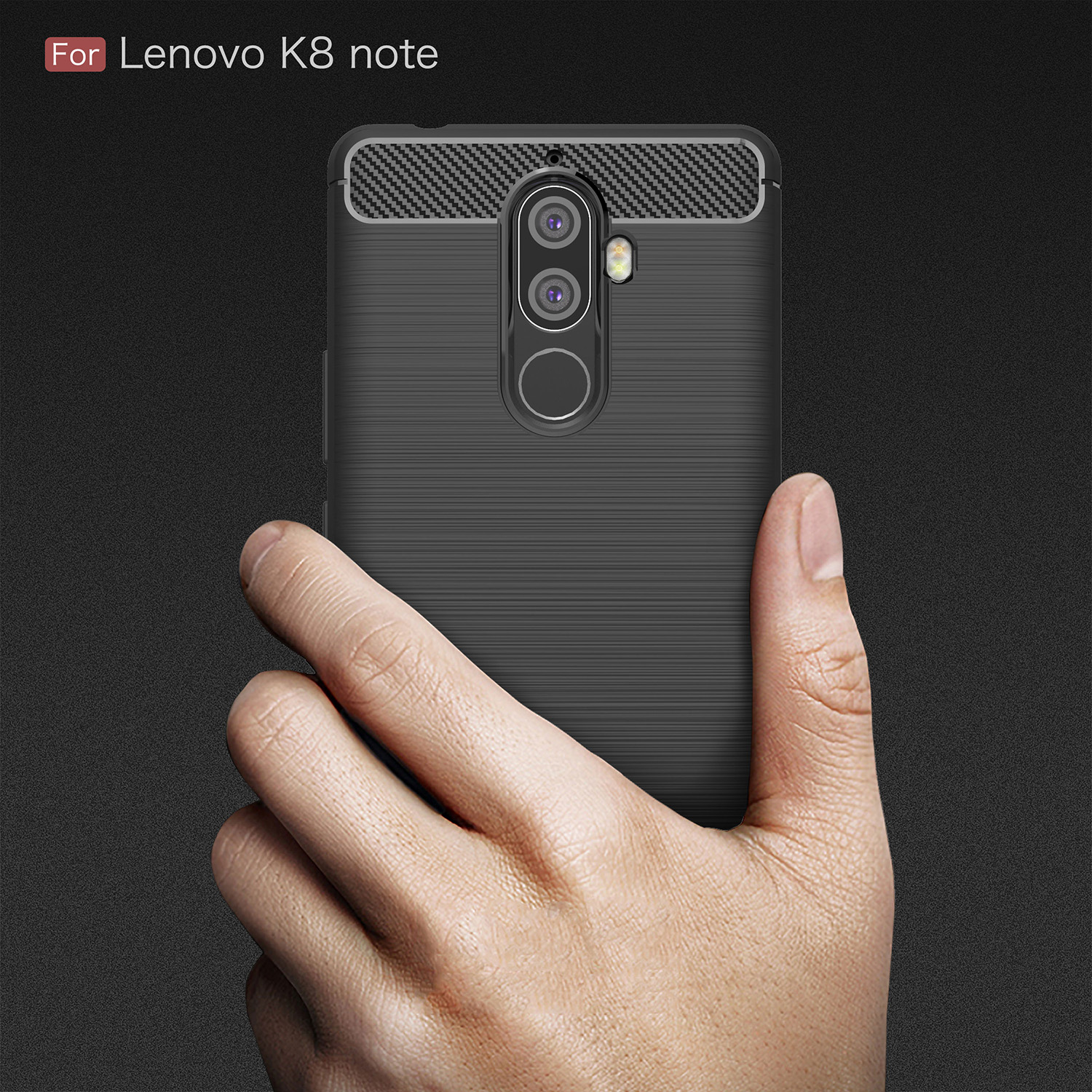 For Lenovo K8 Note Case Shockproof Armor Rubber Silicone Phone Case For Lenovo K8 Note Back Cover For Vibe K8 Note Fundas XT1902 in Fitted Cases from