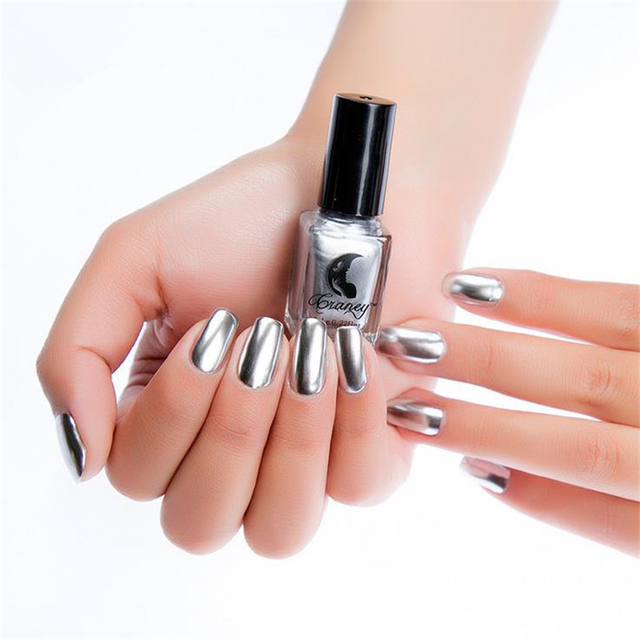 New Fashion New Metallic Mirror Nail Polish Sexy Color Stainless ...