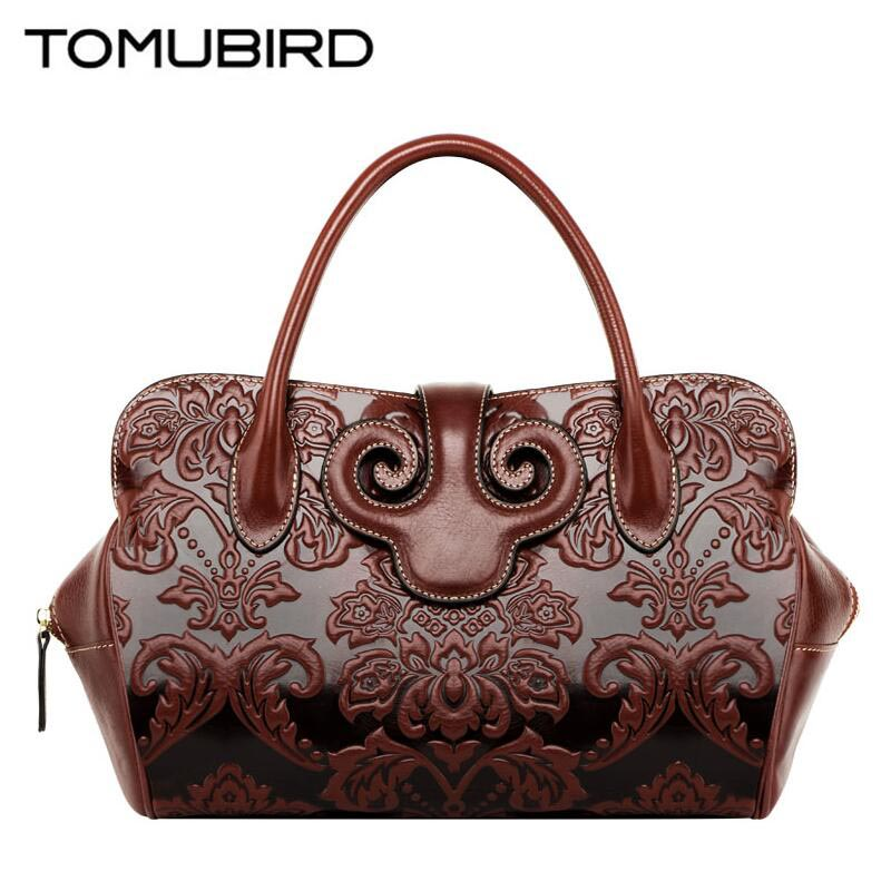 TOMUBIRD 2017 new superior leather designer famous brand women bags retro embossing luxury genuine leather handbags shoulder bag tomubird new original hand embossed superior leather designer bag famous brand women bags genuine leather handbags shoulder