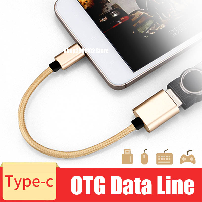 USB Type C To USB OTG Cable Adapte For Xiaomi Mi8 Mi5 Mi4C Nexus 5X 6P Macbook OTG Type-c Charger Data Cable USB C Cable Mate20