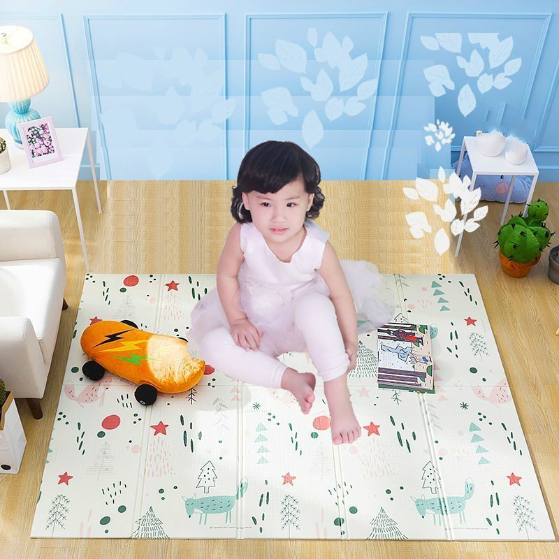 150X200cm tapis de jeu pour bébé Xpe Puzzle tapis pour enfants épaissi Tapete Infantil Gym bébé chambre ramper Pad tapis pliant pour enfants - 3