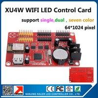 kaler Njing KALER led display control card new arrival onboard wifi signal wifi control card XU4W 64x1024 pixel single color