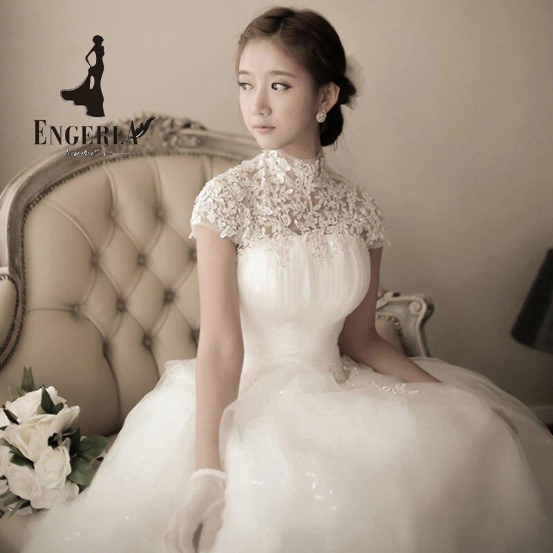 elegant newly design wedding dress 2017 romantic vestidos fashion word sweet heart bride sexy ball gown