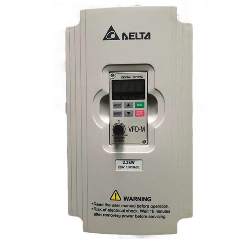 Delta Inverter VFD007M23A AC Variable Frequency Drive VFD-M 1HP 3 Phase 230V