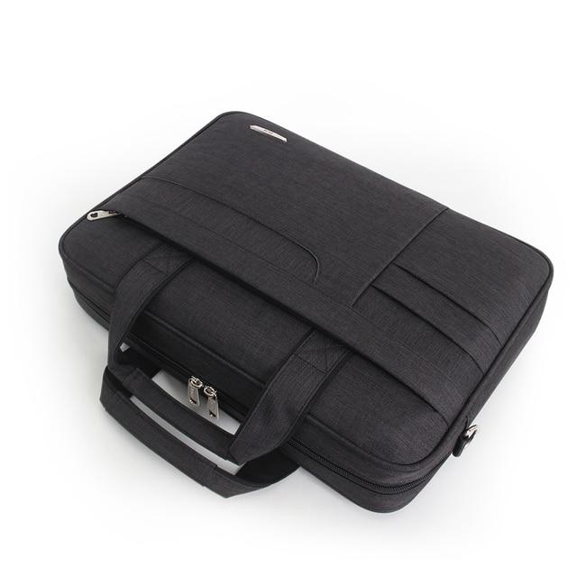 Black Carney Road Bag For Laptop & Macbook  4