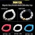 Joker anel magnético falso fimose retarder penis anel para retardar a ejaculação, Ajustável anéis penianos sexo produtos