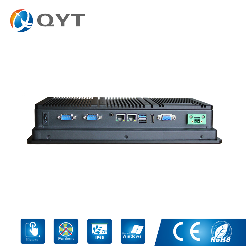 Image 5 - QYT industrial panel pc 11.6 inch tablet pc for industrial using with intel i3 cpu