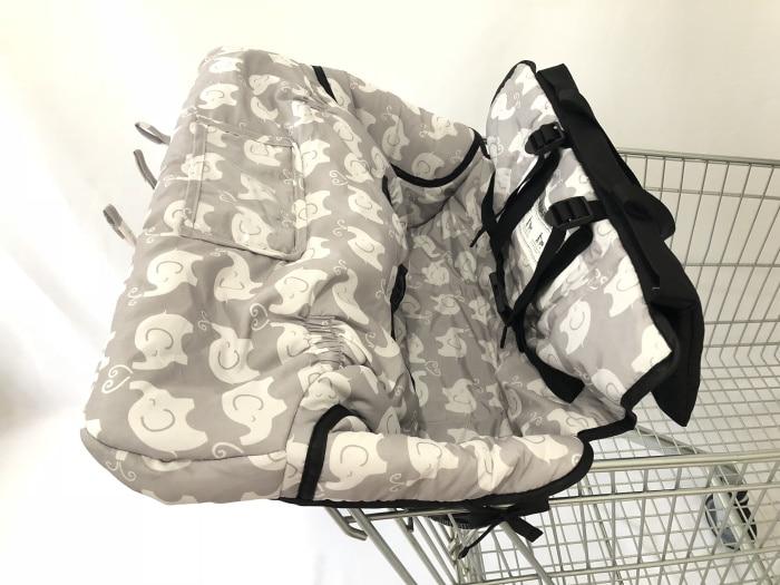 Чехол на колесиках с изображением совы и слона для детей с чехлом для смартфонов/чехол для детской коляски - Цвет: Elephant