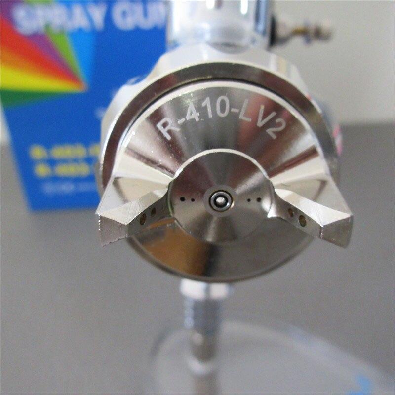 Prona R 403 IP luft spray gun, gravity feed mit kunststoff tasse, luftdruck zu tasse für hohe vicosity malerei materialm, R403 IP - 5