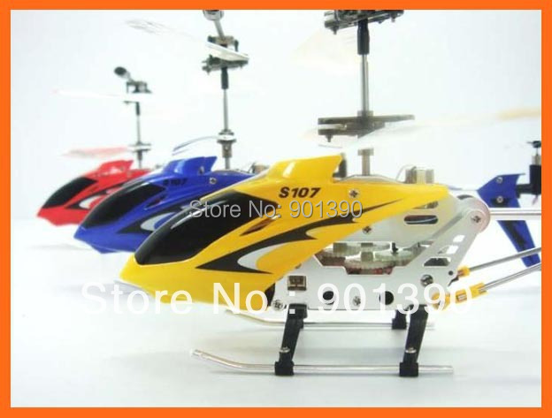 SYMA S107 S107G RTF 3CH Rc r/c Helicopter toy ,With GYRO & Aluminum Fuselage + Promote Product + Free shipping
