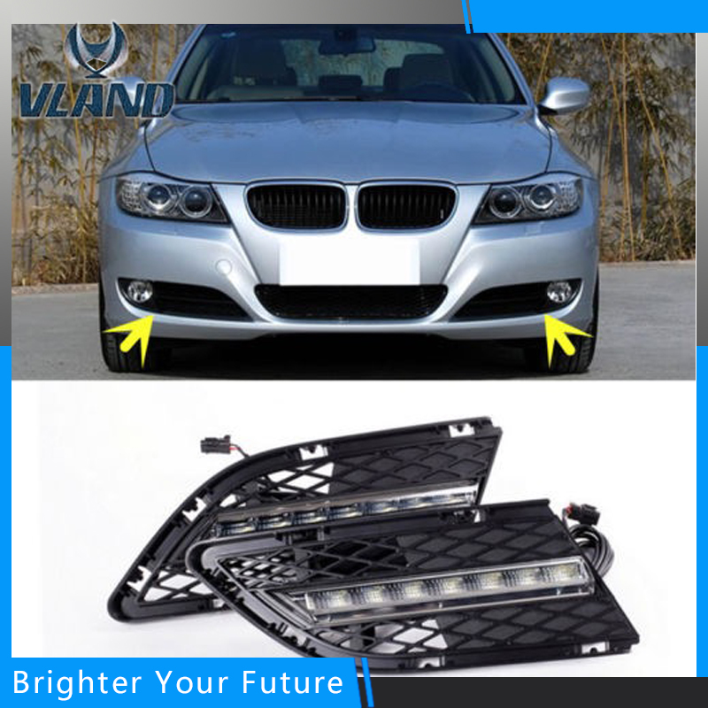 Auto Daytime Running Ligh For BMW 3-Series E90 328i 320i 323i 325i 330i 2010~2012 DRL Driving Lamp спойлер bmw e90 318i 320i 325i 330i m3