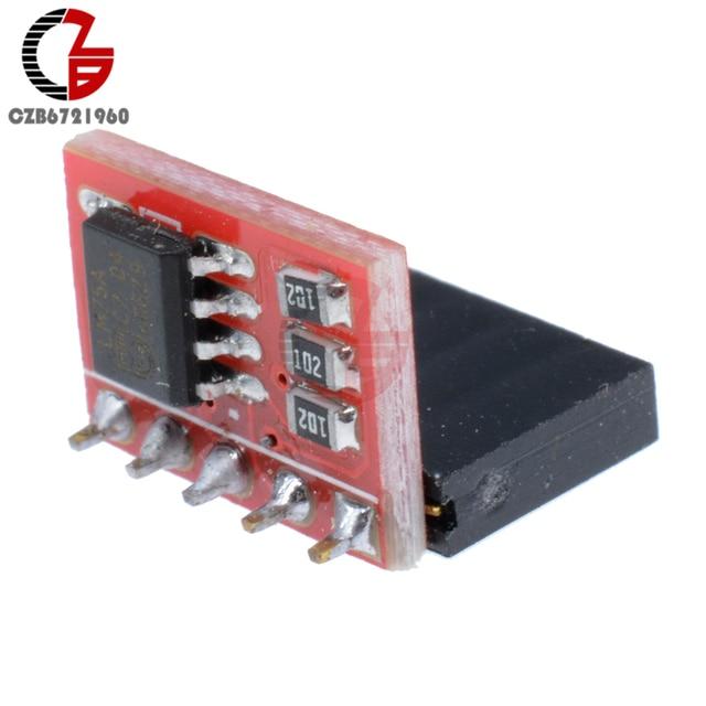 US $2 95 10% OFF 5Pcs LM75A I2C Temperature Sensor Module Thermostat  Temperature Controller Development Board for Arduino Raspberry Pi-in  Temperature