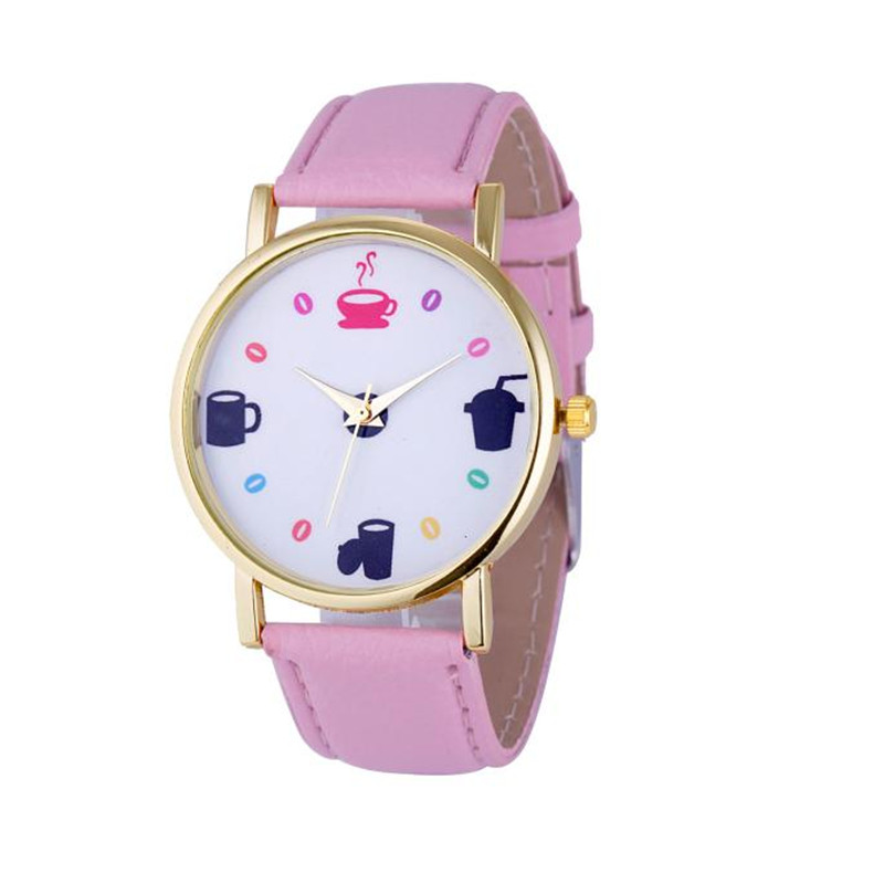 New CLAUDIA Fashion 8Colors Fashion Womens Leather Stainless Steel Date Dress Quartz Analog Wrist Watch Dropship Reloj Mujer new forcummins insite date unlock proramm