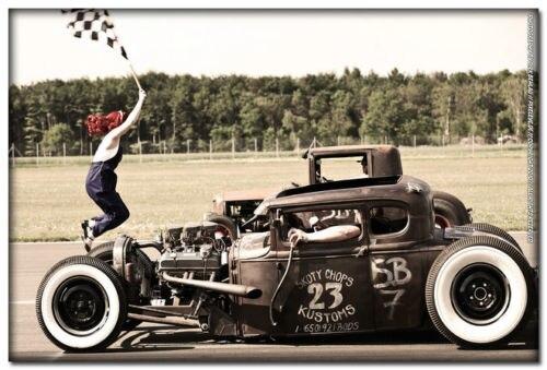 Cars Slaapkamer Decoratie : Hot rod custom roadsters classic spier cars zijde poster art