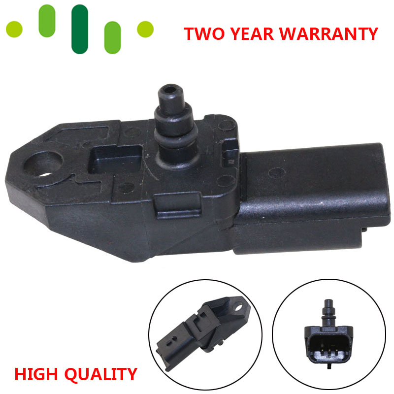 2.5BAR Manifold Turbo Boost Druck KARTE Sensor Für 2004-2014 Peugeot 1007 206 307 407 CC SW 607 807 1,6 2,0 HDI 1920.CZ