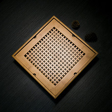 Bamboo tea tray Natural home use tea table personal kung fu tea ceremony tray Tea tool Quad Mini pallet One world zen