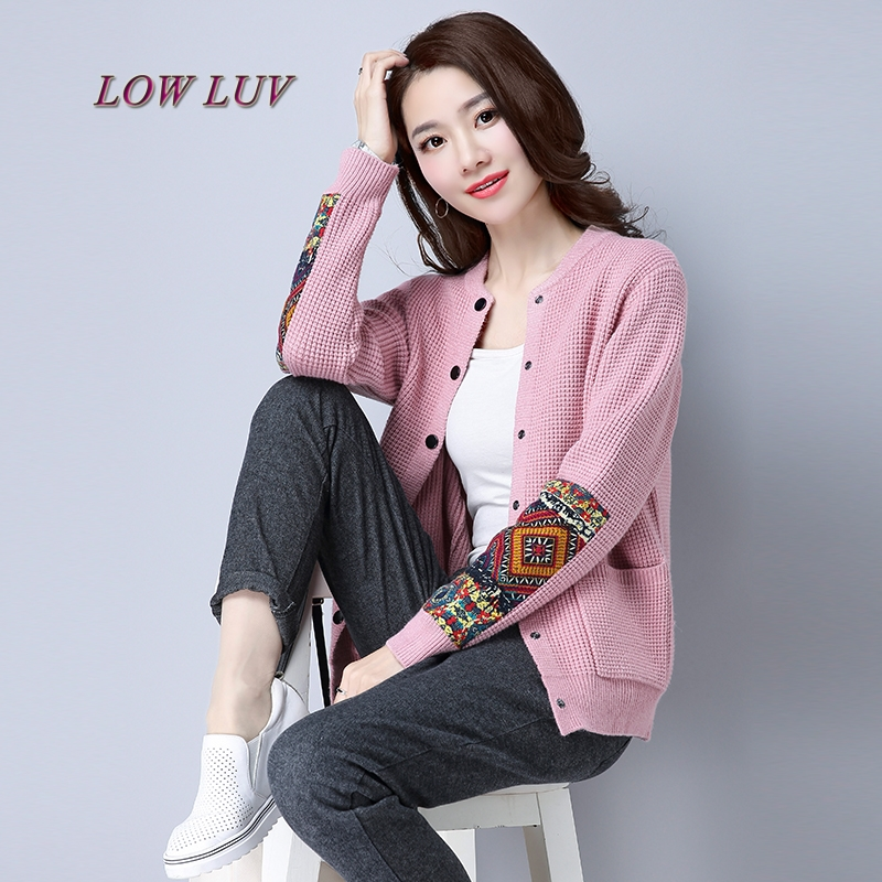 NEW Spring and Autumn Cashmere Blending Women Knit Cardigan Slim wild V neck Wool Cardigan Women high quality Sweaters