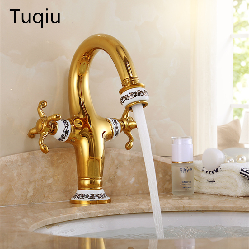 New arrival high quality cold and hot dual levers High black bathroom sink faucet basin faucet with 45 cm plumbing hoseNew arrival high quality cold and hot dual levers High black bathroom sink faucet basin faucet with 45 cm plumbing hose