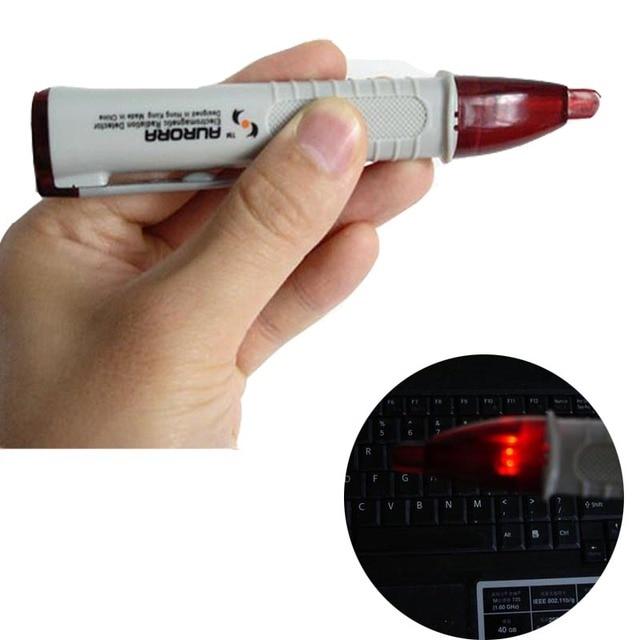 Détecteur de Rayonnement électromagnétique Stylo, EMF Tester Dosimètre, Pour Ordinateur TV GSM Téléphone Portable équipement sans contact électrique stylo