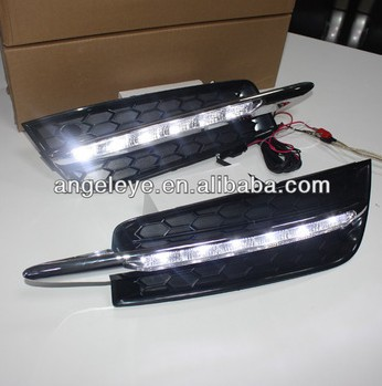 2009-2012 year For Cruze 6pcs LED DRL LED Fog Daytime Running Light V1 2009 2011 year golf 6 led daytime running light