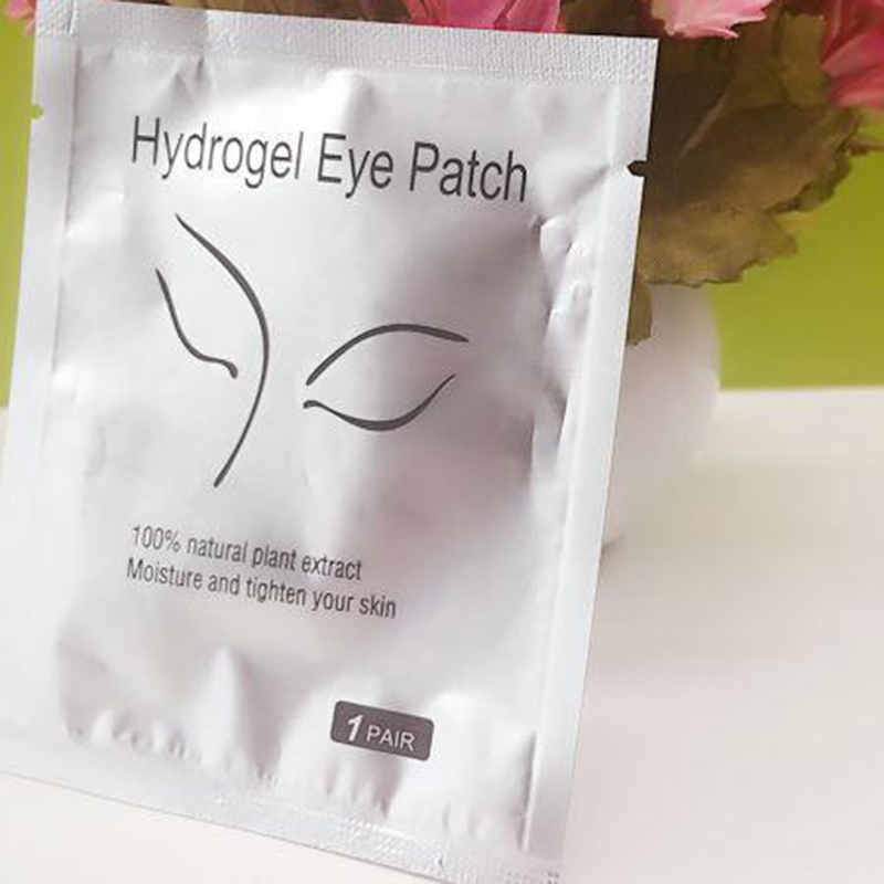 100pc/50pairs New Paper Patches Eyelash Under Eye Pads Lash Eyelash Extension Paper Patches Eye Tips Sticker Wraps Make