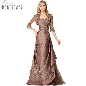 b3929a166f7 Новинка 2019 года мать невесты платья для женщин с курткой строгие брюки  костюмы женские вечерние платья плюс размеры vestidos madre de la novia