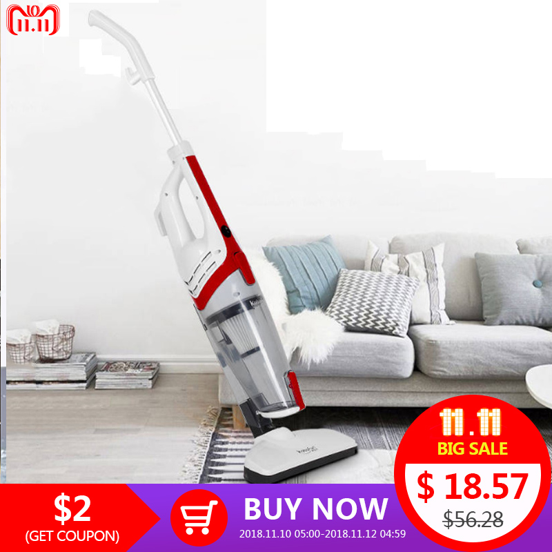 Ultra Quiet Mini Home Rod Powerful Vacuum Cleaner Portable Dust Collector Home Aspirator Handheld Floor Vacuum Cleaner KBF03-05 ultra quiet portable hand vacuum cleaner 650w bagless rod mini vacuum cleaner hepa filter dust collector aspirator floor cleaner