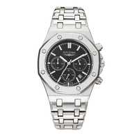 Wholesale Mens Luxury Watch AAA All Subdial Work Stainless Steel Quartz Movement Male Sport 40mm Watch Chronograph Wristwatch