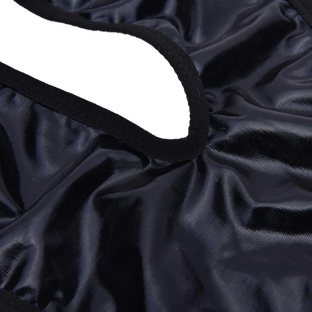 Zwart PU leer erotische lingerie teddybeer Nieuwe Vrouwen sexy lingerie Bodysuits sexy V-hals ondergoed kostuums Groothandel