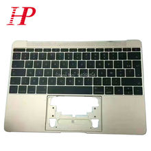 """Original New For Apple New Macbook 12"""" A1534 Top Case Palm rest With French Keyboard 2016 Year Gold/Rose/Gold/Gray/Silver"""