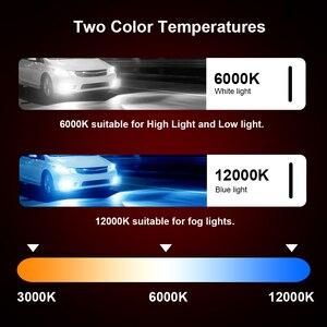 Image 2 - CROSSFOX bombilla LED para faro delantero de coche, 12V, 6000K, 880, H4, H1, H3, H8, H9, H11, 12000K, 9005, HB3, 9006, HB4, H7, 9004, 9007