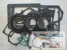 Lenar 254 274 tractor parts, the set of gasket kit for engine NJ385