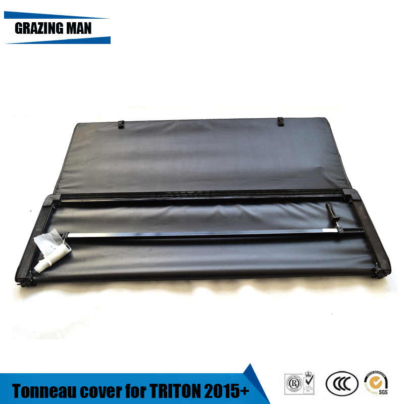 Tonneau Cover Soft Tri Fold Truck Cover For Triton 2015 Aliexpress