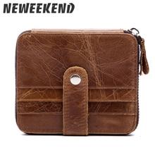 купить RFID Blocking Brand Wallet Men Leather Men Wallets Purse Short Male Clutch Leather Wallet Mens Money Bag Quality Guarantee 1026 по цене 591.39 рублей