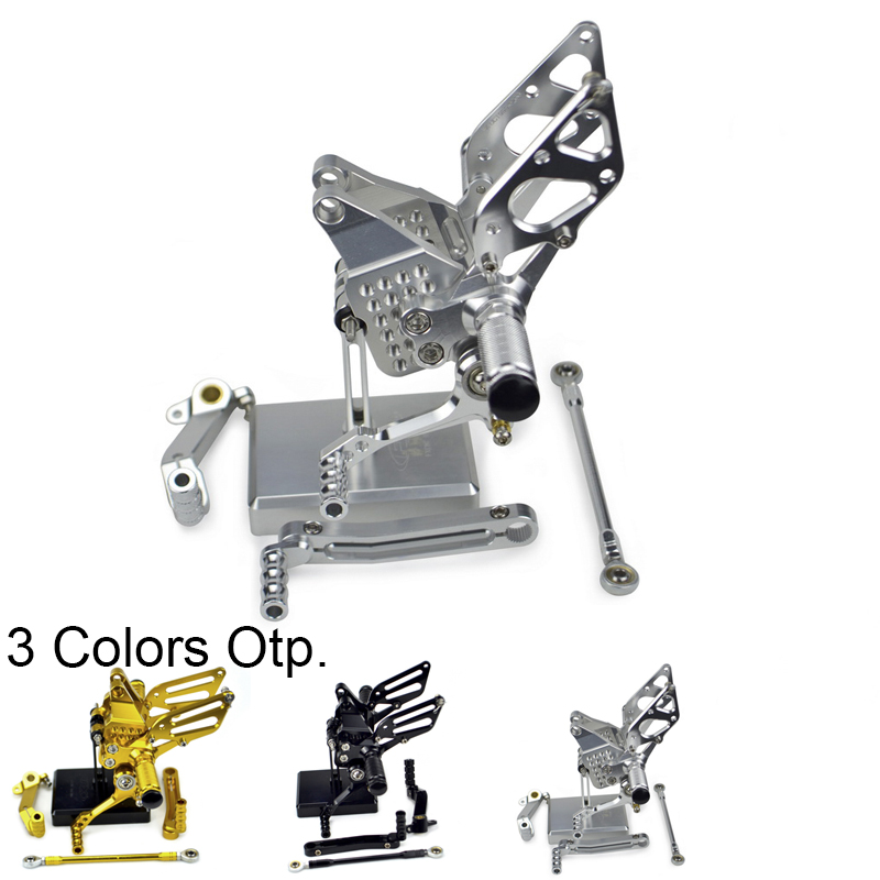 Adjustable Rearset Footpeg Footrest Rear Sets Foot Pegs Rests For Ducati 749 999 R S 749R 749S 999R 999S 2003 - 2004 2005 2006