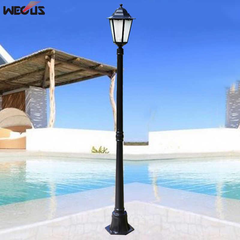 (H≈ 1,7 м) Европейский открытый сад светильник настенный водонепроницаемый сад лампы вилла лампы газон садовый инженерно специальные лампы