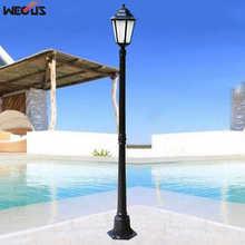 (H≈1.7M) European outdoor garden light waterproof garden v