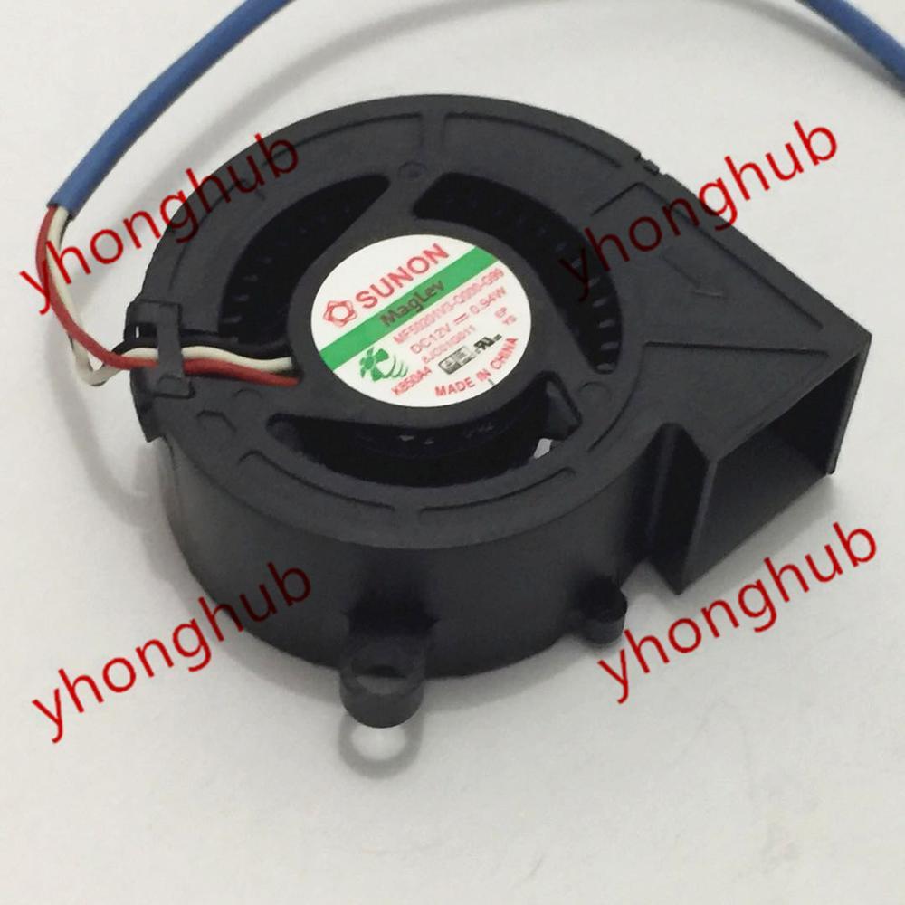SUNON MF50201V3 Q000 G99 DC 12V 0 9W 50x50x20mm Server Cooler Fan