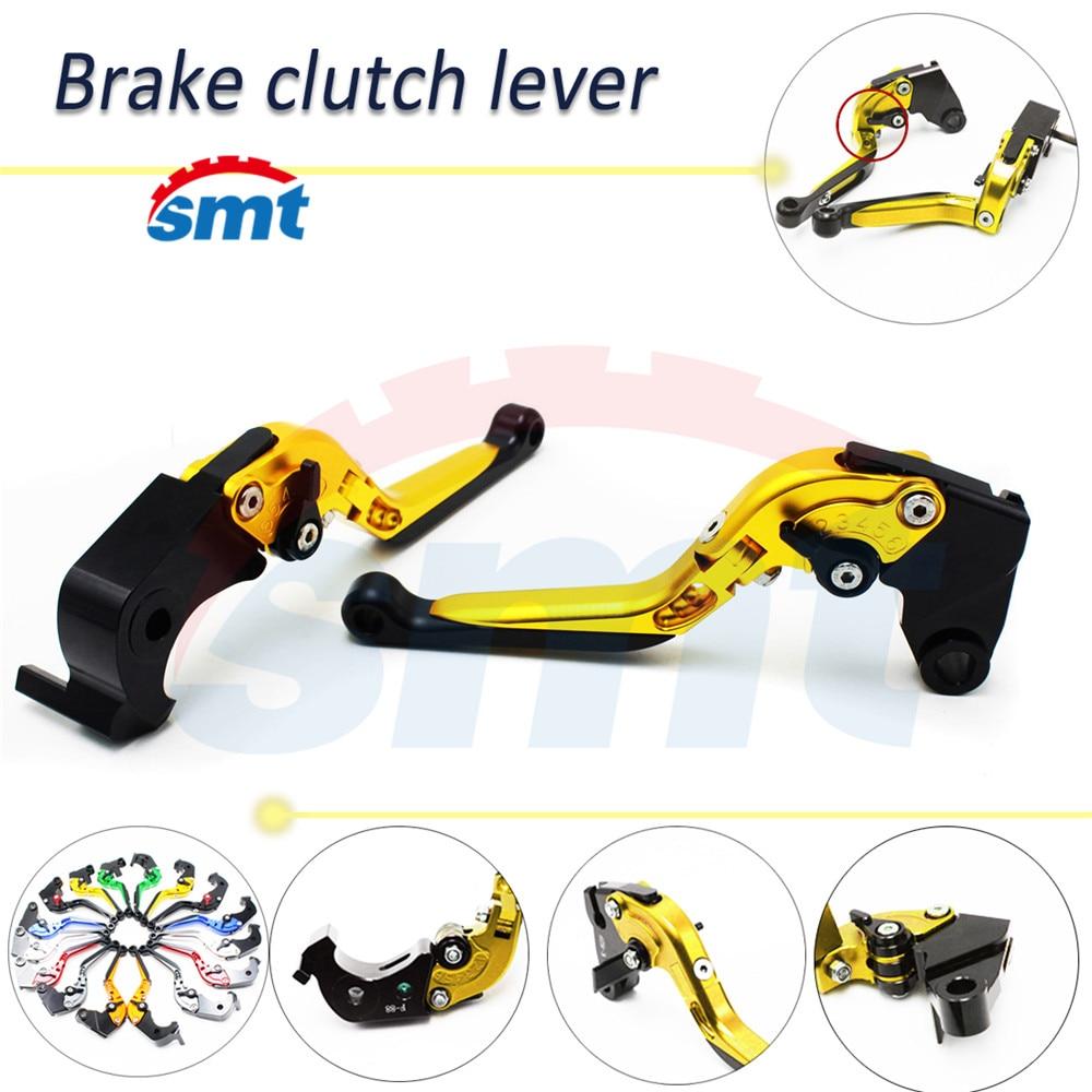 motorcycle brake lever xj6 foldable brake clutch levers golden For HONDA CBR1100XX/BLACKBIRD 97 98 99 00 01 02 03 04 05 06 07 бра eglo maserlo 94934