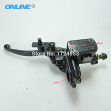 On sale Free shipping universal ATV Left Side Hydraulic Brake Master Cylinder Lever Fit To 50cc 110cc 125cc 150cc 250cc ATV Quad