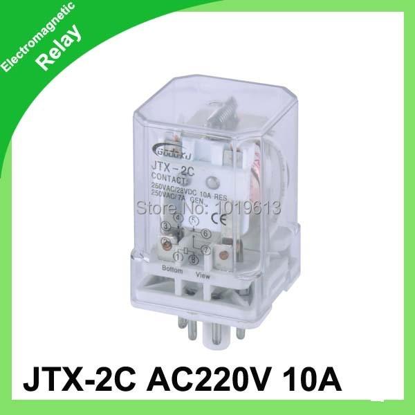 relay 220 ac JTX 2C 2pdf electric relay series general purpose relay ...