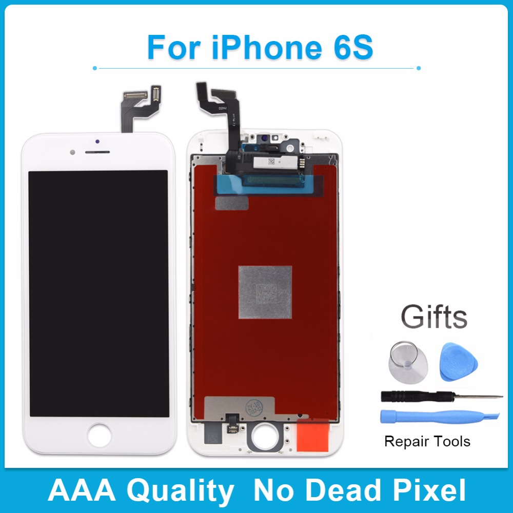 100% High Quality Replacement Assembly Display Screen For iPhone 6s LCD Display With Touch Screen Digitizer For iPhone 6 s