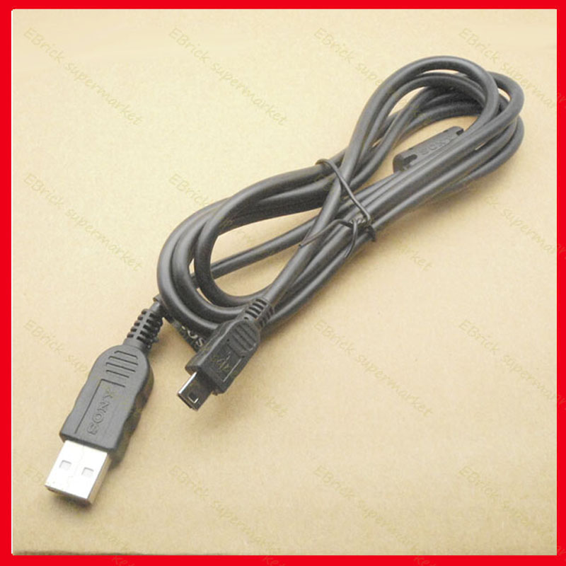 25pcs Original New USB Data Cable With Magnetic Ring For PSP1000/PSP2000/PSP3000 PSP Data Cable