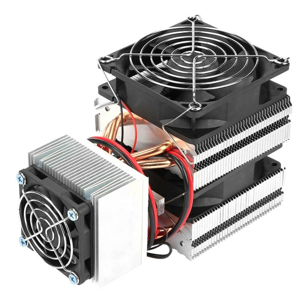 DC 12V 20A 180W 12715 Semiconductor Refrigeration Peltier Cooler Air Cooling Radiator DIY Mini Fridge Cooling