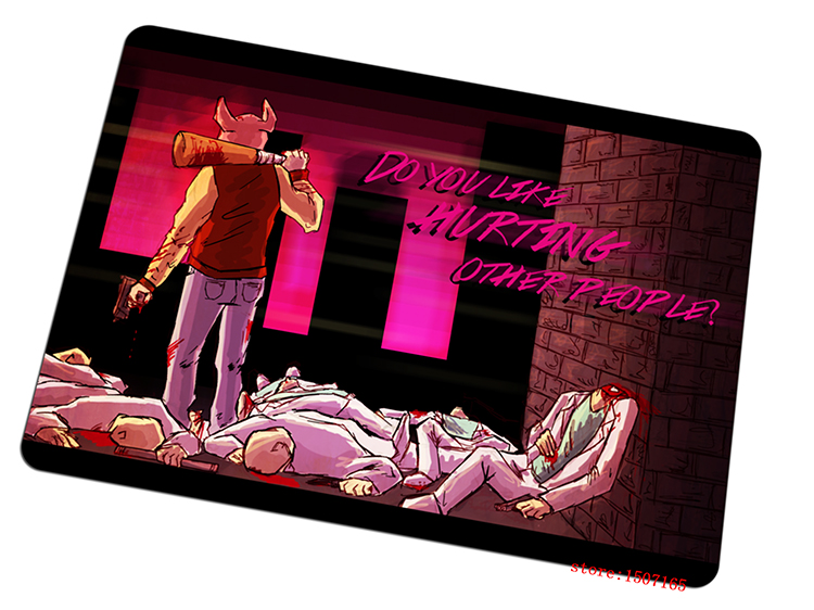 9 size cool Hotline Miami mouse pad Halloween Gift large pad to mouse computer new red mousepad gaming mouse mats to mouse gamer