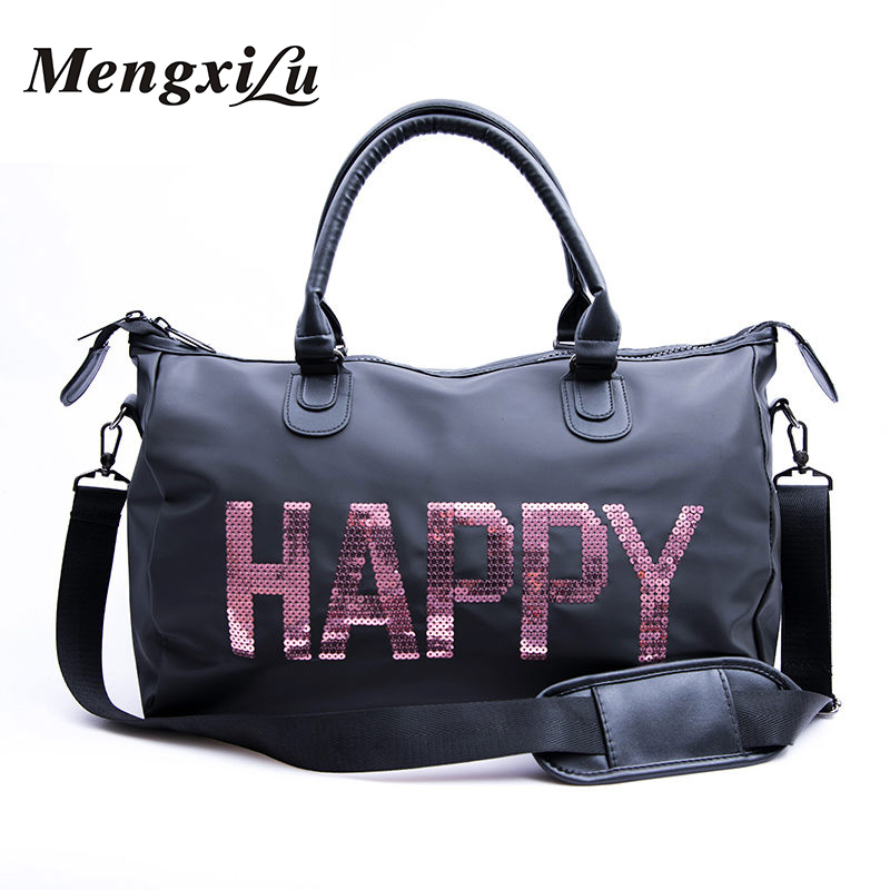 Meng Xi Lu 2018 New Arrival Famous Brand Trivial Bags Nylon Large Capacity Fashion Trivial Bags Women Handbag Shoulder Bag