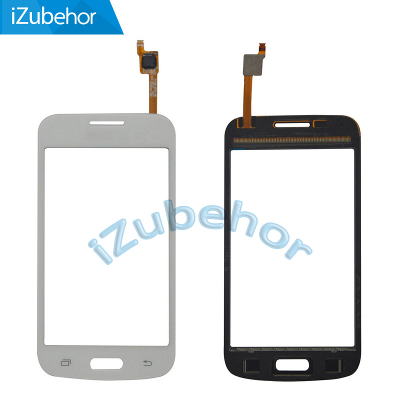 Black/white mixed colors without camera hole <font><b>Touch</b></font> <font><b>Screen</b></font> Glass Digitizer for <font><b>Samsung</b></font> Galaxy star advance <font><b>G350E</b></font> <font><b>SM</b></font>-<font><b>G350E</b></font> image