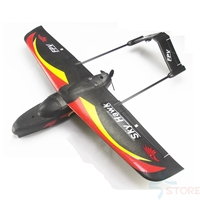 Sky Hawk V1 940mm Wingspan EPP RC Flywing Planes Kit/PNP Black Electric RC Glider
