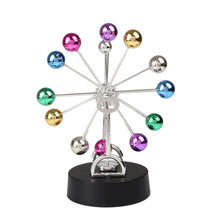 2016 Early Fun Development Educational Desk Toy Gift Newtons Cradle Steel Balance Ball Physics Science Pendulum Toys