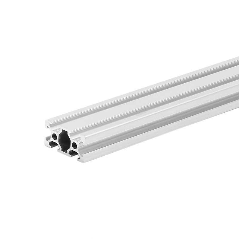 Silver 1500mm Length 2040 T Slot Aluminum Profiles Extrusion Frame For DIY CNC 3D Printers Plasma